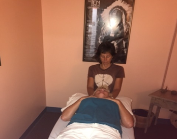 LeeAnn Nelson providing Physical Therapy photo