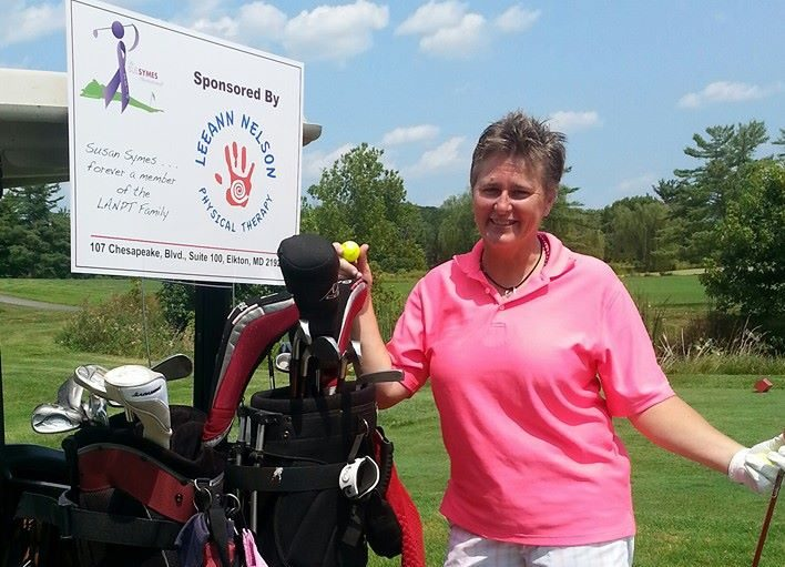 LeeAnn Nelson Physical Therapy Sponsors Golf photo